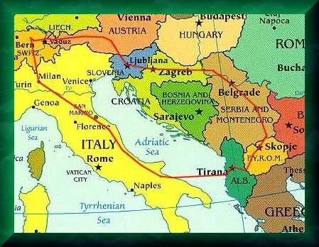 Karte Serbien Kroatien   My Blog